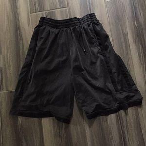 Men's Nike Dri-Fit Gray & Black Shorts